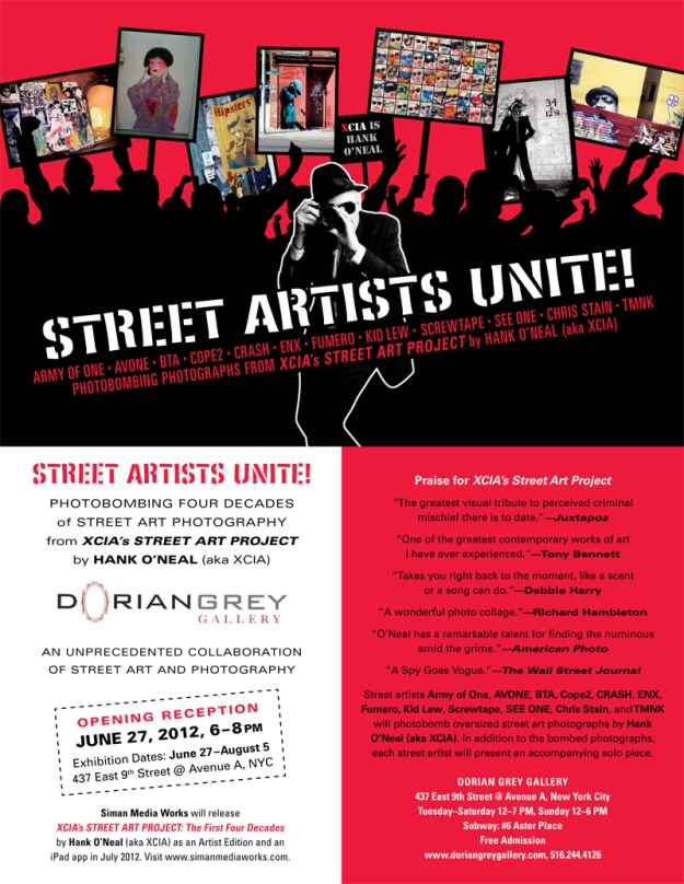 STREET ARTISTS UNIT @DORIAN GREY GALLERY