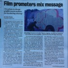 film promoter mix message