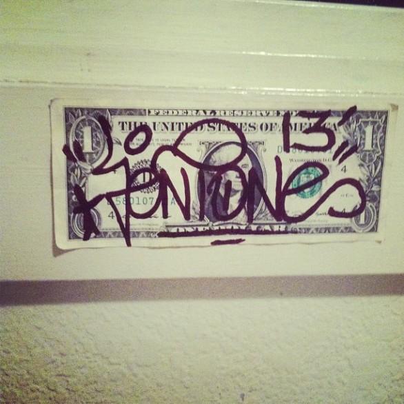 dollar dollar bill