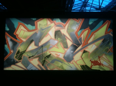 Graffiti : Tableaux de maîtres – sos racisme auction – WHAT