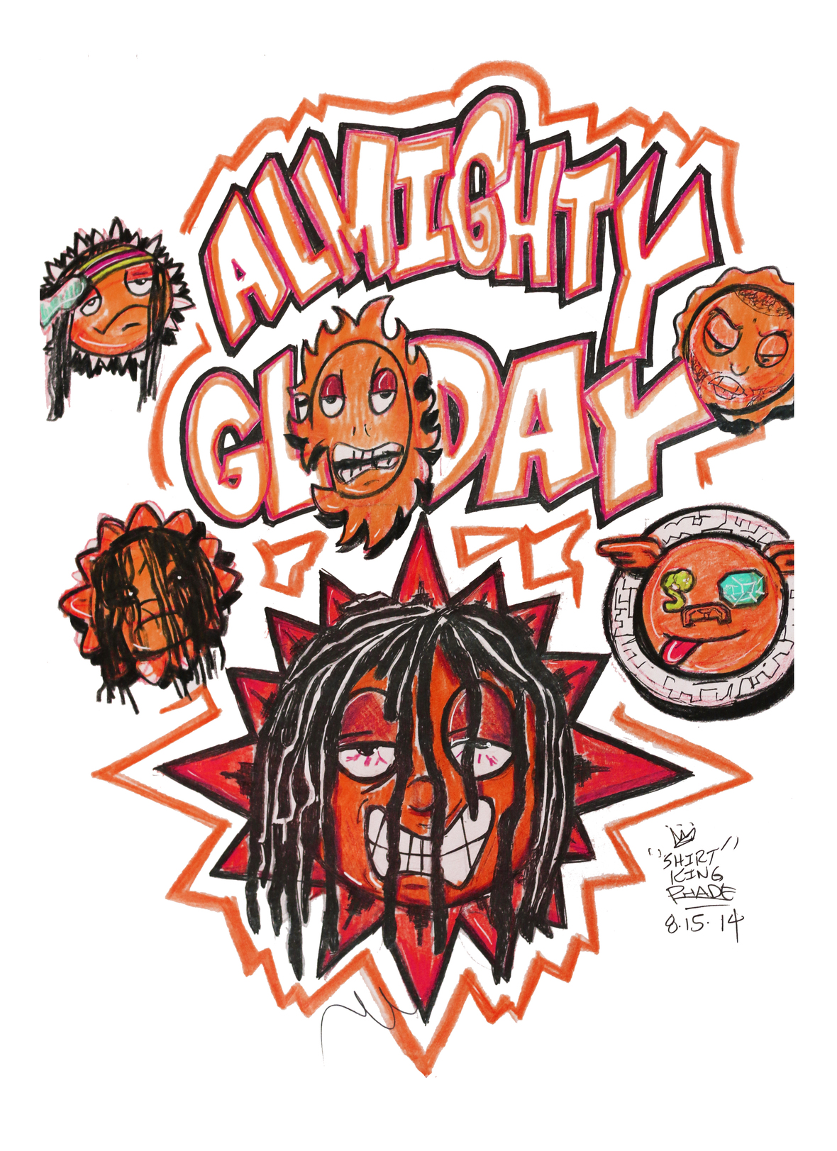 SHIRTKING PHADE for TI$A X CHIEF KEEF T-SHIRT – WHAT YOU ...